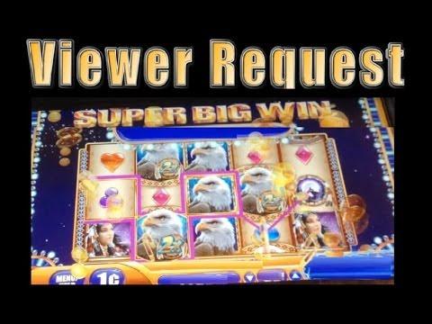 Big Wins!! Great Eagle Returns Slot Machine Bonus Viewer Request! ~ WMS (Great Eagle Returns Slot)