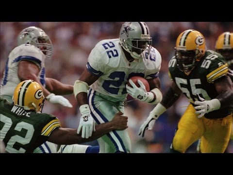 #28: Emmitt Smith | The Top 100: NFL's Greatest Players (2010) | NFL Films