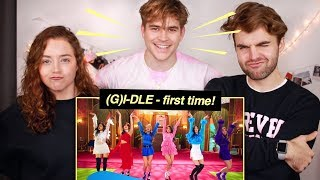 Video (G)I-DLE - 'Senorita' M/V Reaction! (her first time!!) MP3, 3GP, MP4, WEBM, AVI, FLV April 2019