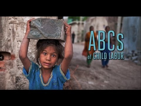 ABCs of Child Labor...15 products touched by child labor and child slavery. How many do you use?