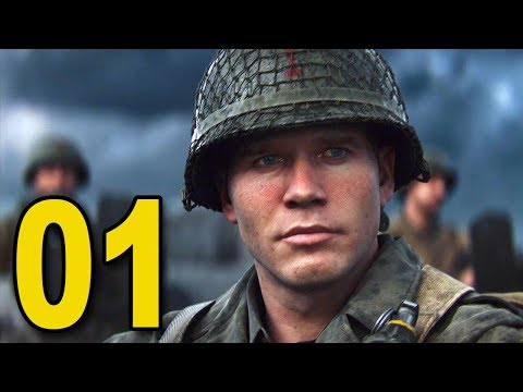 Call of Duty WWII - Part 1 - D-Day (видео)