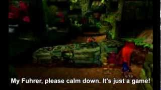 Hitler Plays Crash Bandicoot