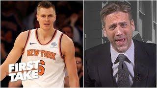 The Knicks trading Kristaps Porzingis is 'utter nonsense' - Max Kellerman   First Take