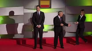 Homenaje a los medalllistas en Barcelona'92 en la Gala Anual del Comité Olímpico Español