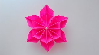 Easy Paper Flower | Origami Flower Making | DIY