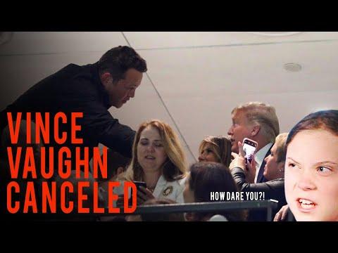 "Vince Vaughn ""CANCELED"" After Tiny Orange Handshake! (AN Hot Takes)"