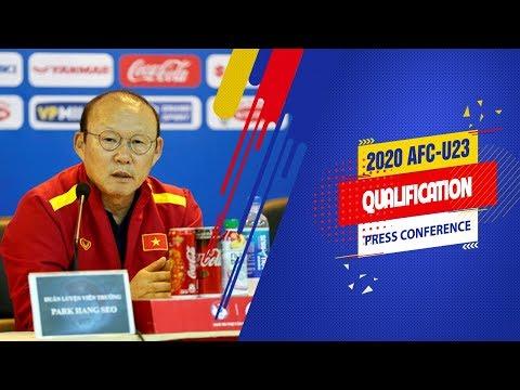 HLV Park Hang-seo không e ngại Thái Lan tại Vòng loại U23 châu Á 2020 | VFF Channel - Thời lượng: 2 phút, 11 giây.