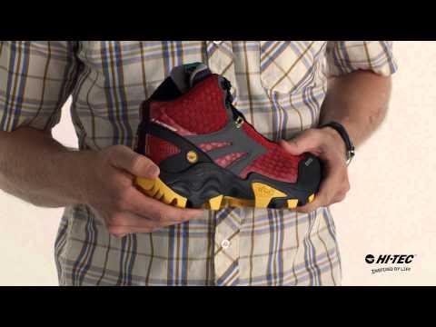FLASH Fast Hike i Waterproof - Athletic Inspired Men's Hiking Boot by Hi-Tec