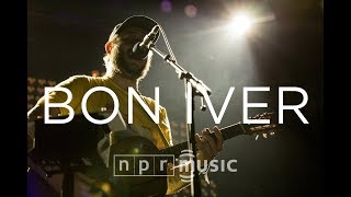 Bon Iver's Justin Vernon Performs At NPR Music's 10th Anniversary