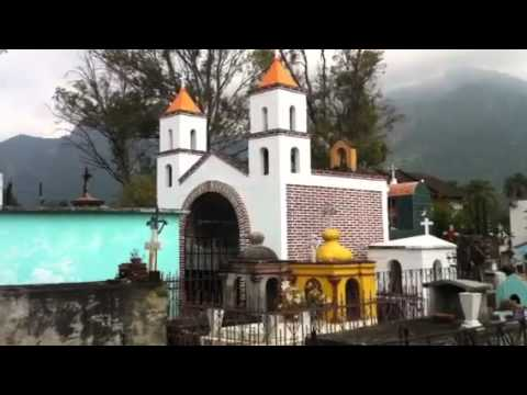 Mexican graveyard