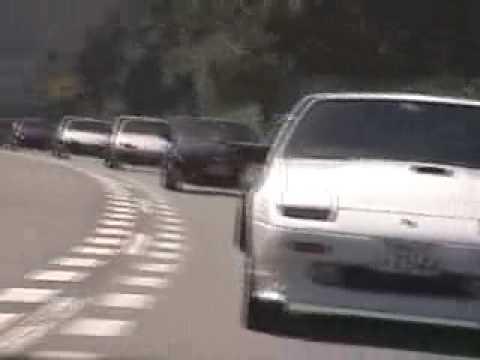 JDM Fairlady Z Fiesta Car Cruise (видео)