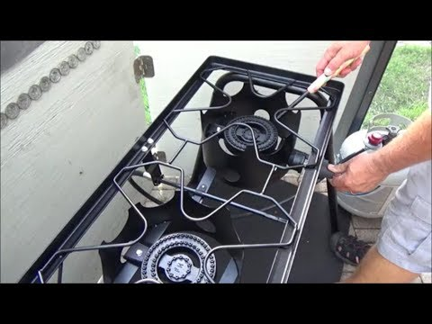 Concord Double Burner Propane Stove Review and Assembly Tips