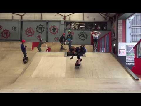 Revolution Skatepark - Easter Skate and Scoot Camp 2017