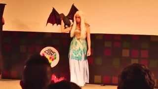 Comic Con Costume and Play Order (C3PO) Khaleesi Game of Thrones Comic-Con Experience CCXP Inscreva-se/Subscribe:...