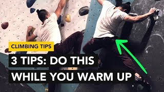 Rock Climbing Tips: How to IMPROVE your Technique during your warm up by  rockentry