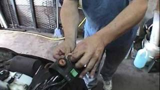7. How to Fix Throttle Positioning switch on a Arctic Cat Snowmobile Part One