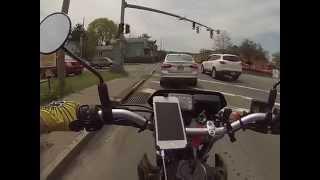 7. Honda CRF230m ride