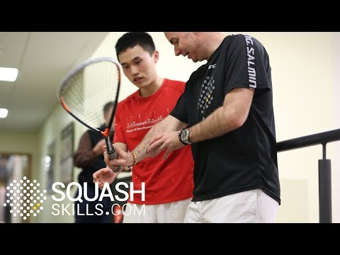 Squash coaching: Analysing the amateur game with 'Coaches Eye'