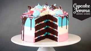 Behind the Scenes Making a Space Unicorn Cake | Cupcake Jemma by Cupcake Jemma