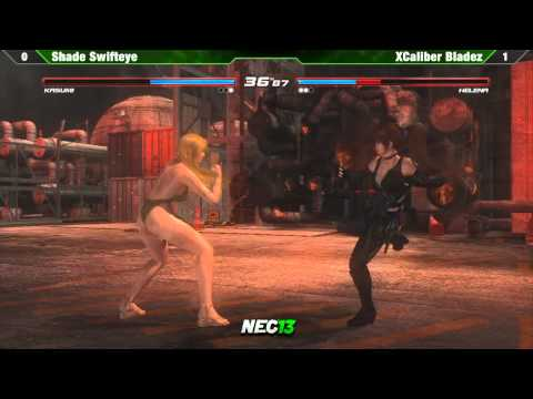 DOA5 Grand Final Shade Swifteye vs XCalibur Bladez - NEC13 Tournament