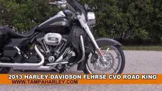 1. Used 2013 Harley Davidson CVO Road King 110th Anniversary Motorcycle for sale