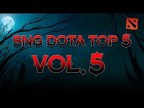 SNG Dota Top 5 vol.5