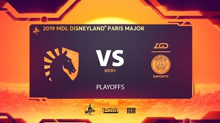 Team Liquid vs PSG.LGD, MDL Disneyland® Paris Major, bo3, game 3 [Lex & 4ce]