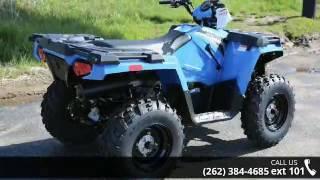 4. 2017 Polaris Sportsman 570 Velocity Blue  - Action Power ...