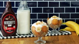 Chocolate Banana Pudding Cups // Presented by Milk Life by Tasty