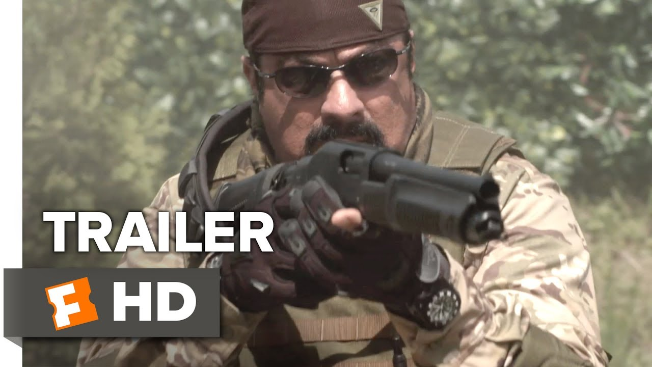 (Trailer) The Government Has Him, The Cartel Wants Him, But Only Steven Seagal Can Protect Him in 'Cartels'