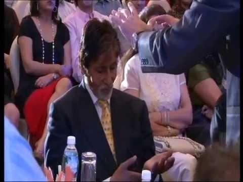 Roy Zaltsman amazws Amitabh Bachchan