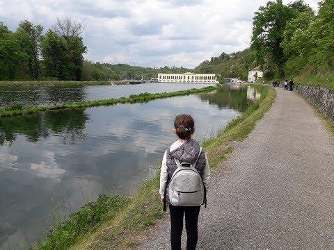 Il Canale Villoresi e la diga del Panperduto