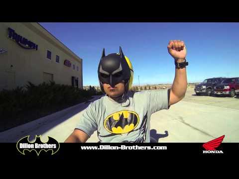 BATMAN buys a 2015 Honda NM4 700 at Dillon Brothers Motorsports