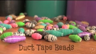 DIY: Duct Tape Beads - YouTube