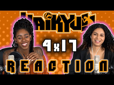 Haikyuu 4x17 REACTION!!