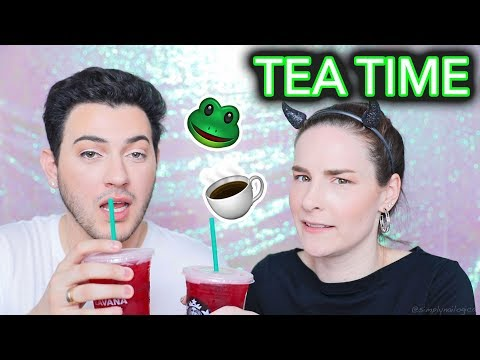 SPILLING TEA? Beauty tutorial w/ Manny MUA   Outtakes & Extras