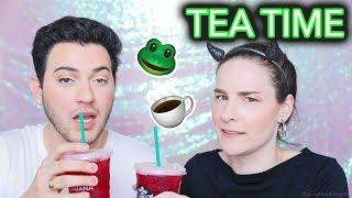 Video SPILLING TEA? Beauty tutorial w/ Manny MUA | Outtakes & Extras MP3, 3GP, MP4, WEBM, AVI, FLV Desember 2017