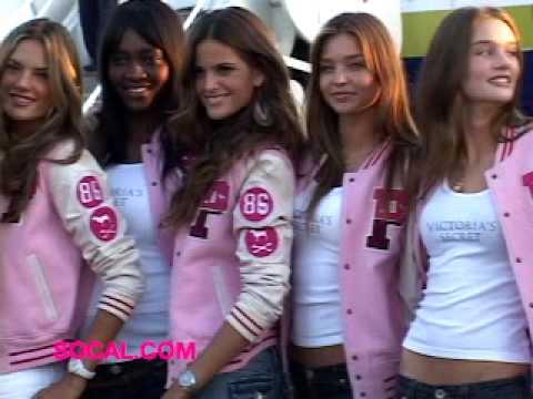 Victoria's Secret Super Models Land in Hollywood