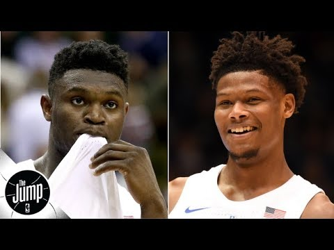 Video: NBA rookies think Cam Reddish, not Zion Williamson, will have the better career | The Jump