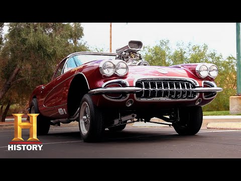 Counting Cars: Danny BURNS RUBBER in a FAST Corvette (Season 4)   History