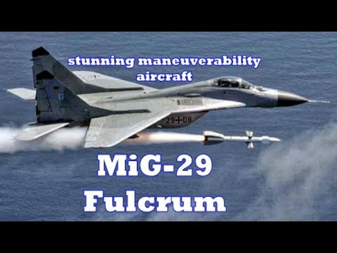 MiG 29 Fulcrum Fighter jet Video  The...