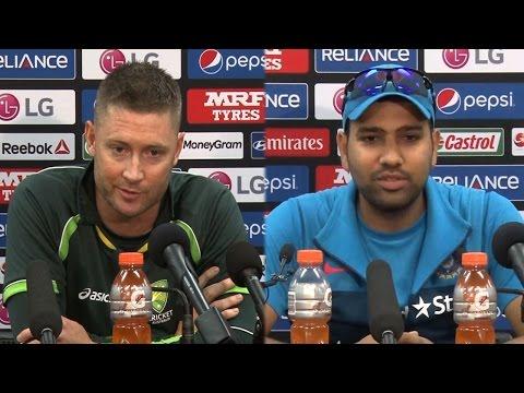 Rohit Sharma vs Michael Clarke War of Words  India vs Australia
