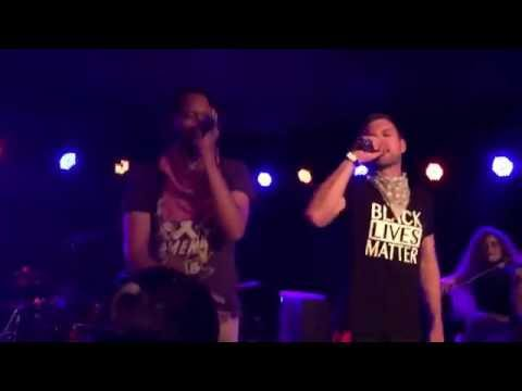 Flobots- Mayday !!! (live) with lyrics @ The Bottleneck Lawrence Kansas Oct. 28, 2016