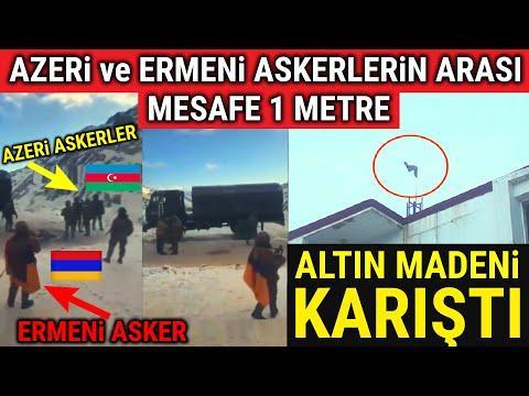 Azeri ve Ermeni Askerler Sınırda Burun Buruna.. Karabağ Karıştı..!!