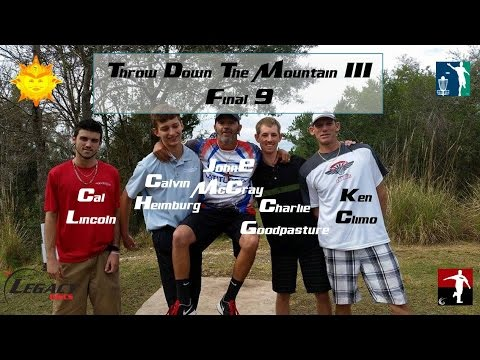 The Disc Golf Guy – Vlog #262 – TDTMIII Final 9 – McCray, Ken Climo, Goodpasture, Heimburg Lincoln