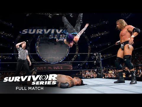 FULL MATCH - Team Triple H vs. Team Umaga – 4-on-5 Handicap Survivor Series Elimination Match