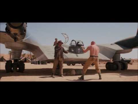 Indiana Jones and the Raiders of the Lost Ark Fight By The Flying Wing HD