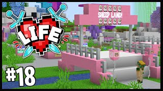 NEW RECRUITS & THEMEPARKS!?   Minecraft X Life SMP   #18