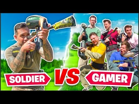 5 YOUTUBERS vs 1 SPECIAL FORCES SOLDIER