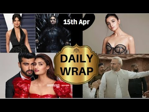 Alia Bhatt CANNOT Vote, Priyanka Chopra Wishes Luck To Sophie Turner For GOT & More | Daily Wrap